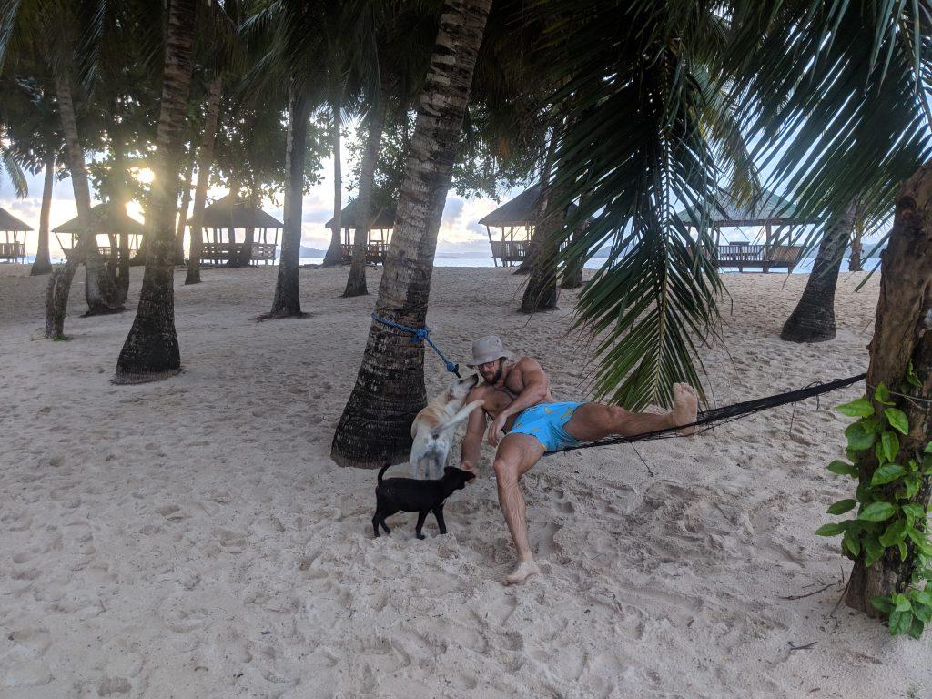 siargao islands philippines hammock