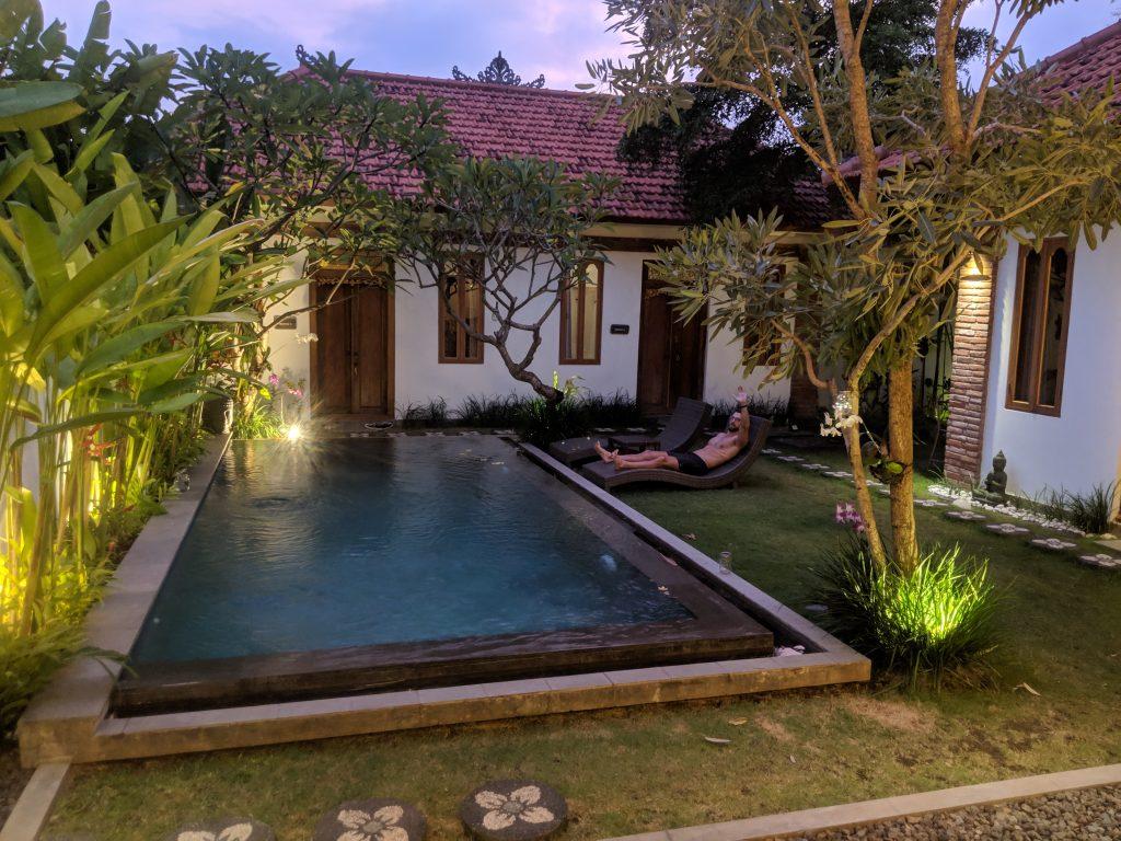 ubud bali airbnb near monkey forest