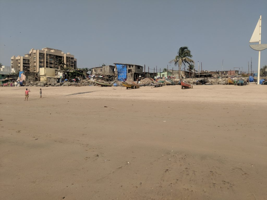 india beach houses poor