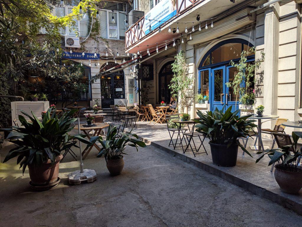 tbilisi cafe scene