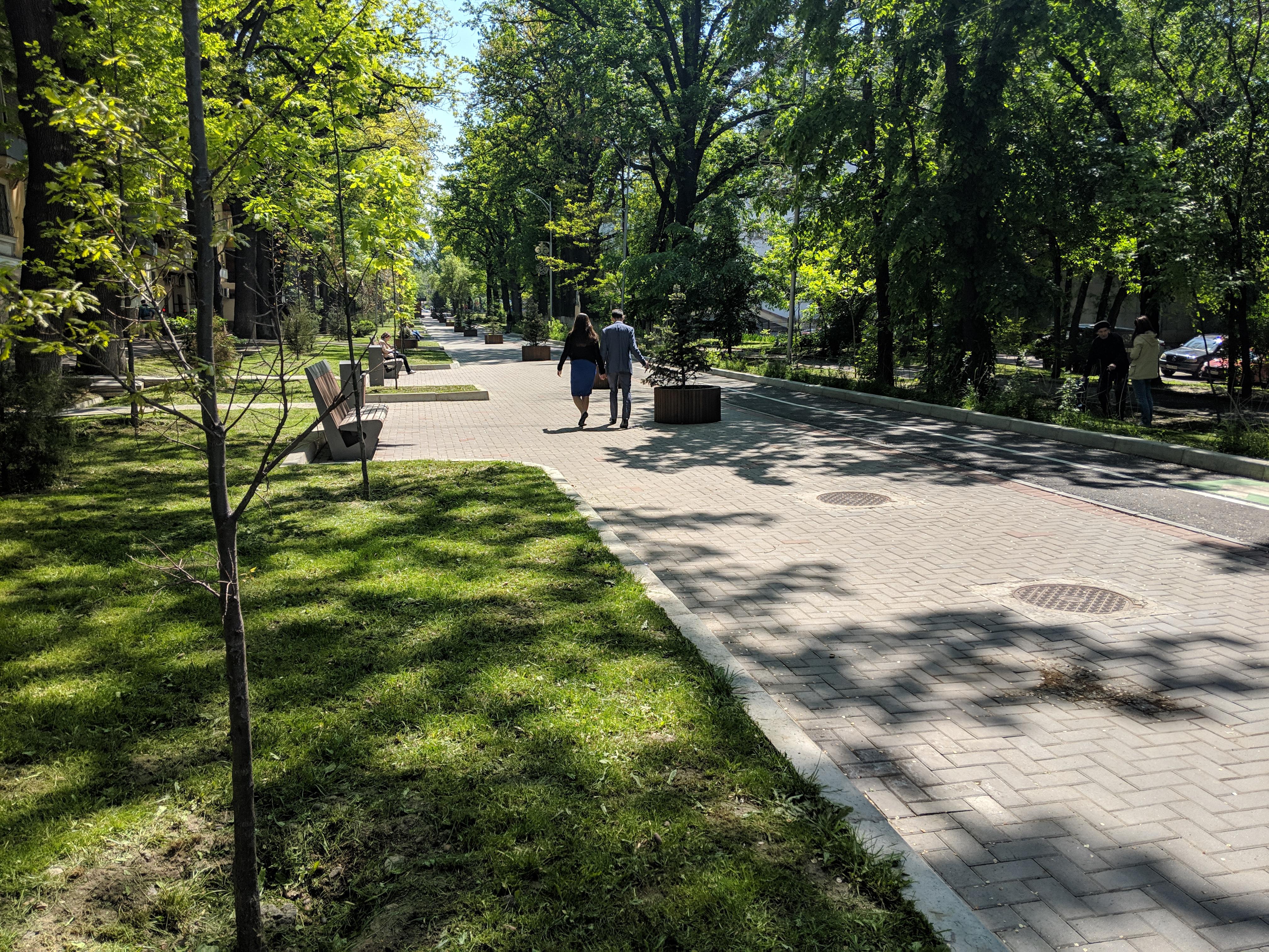 almaty walking streets