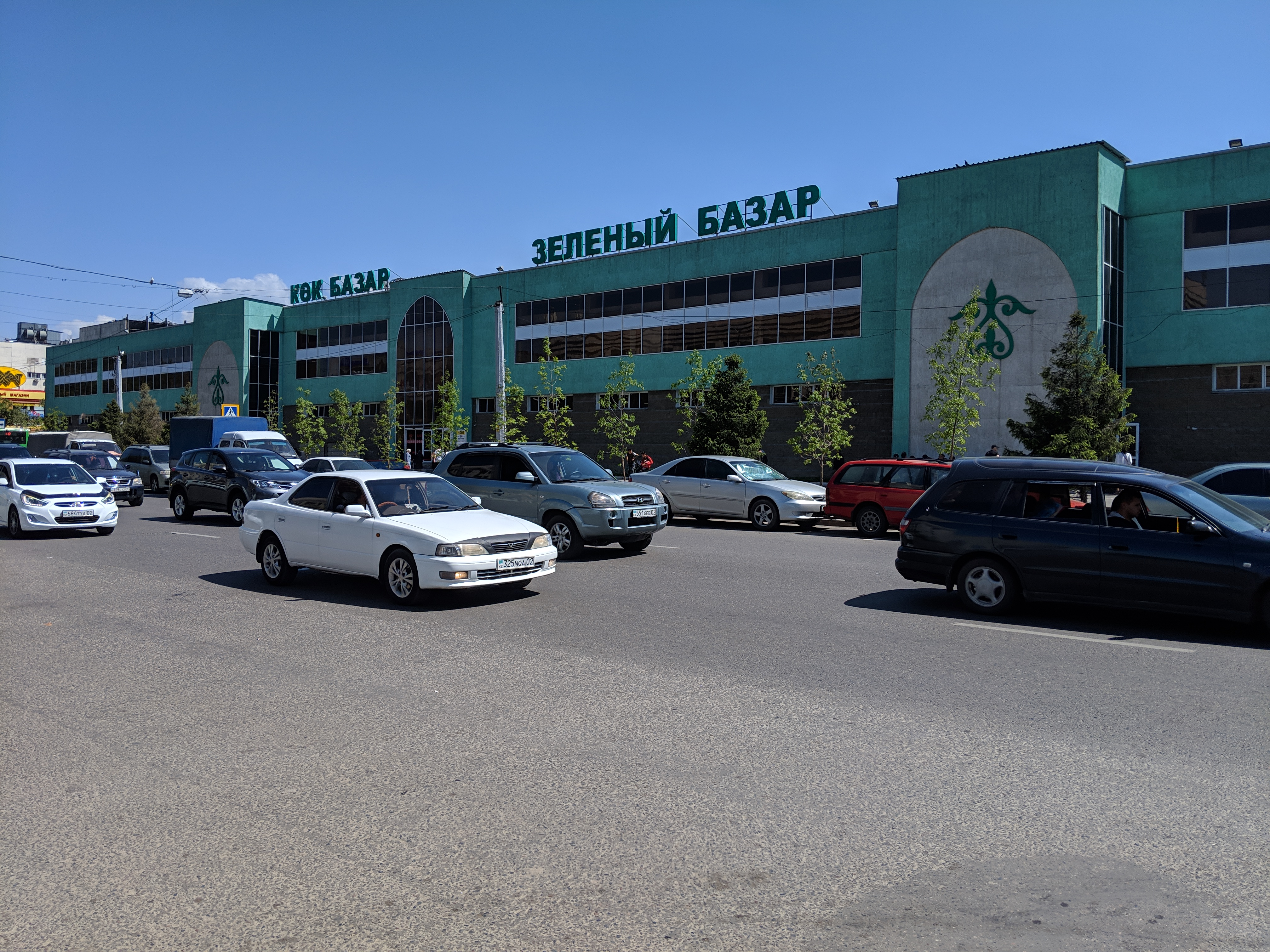 the green market almaty kazakhstan