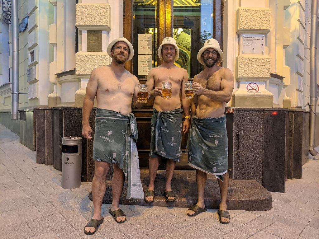 traditional russian bath house moscow russia