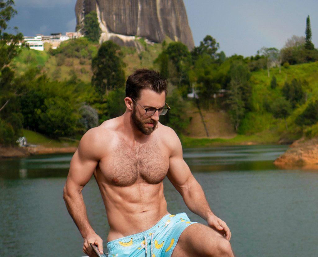 el piedra guatape airbnb houseboat banana swim trunks