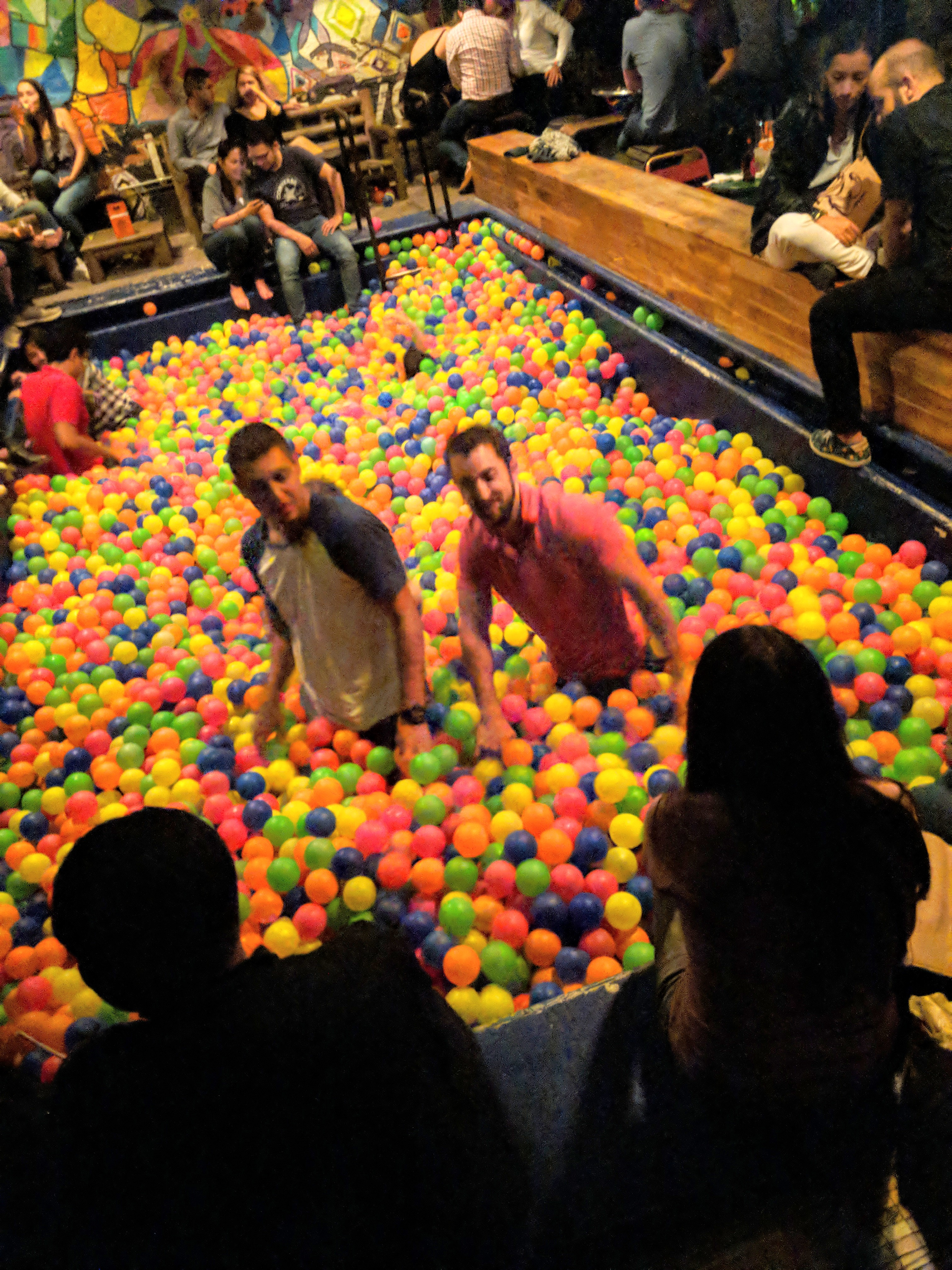 ball pit bar medellin colombia