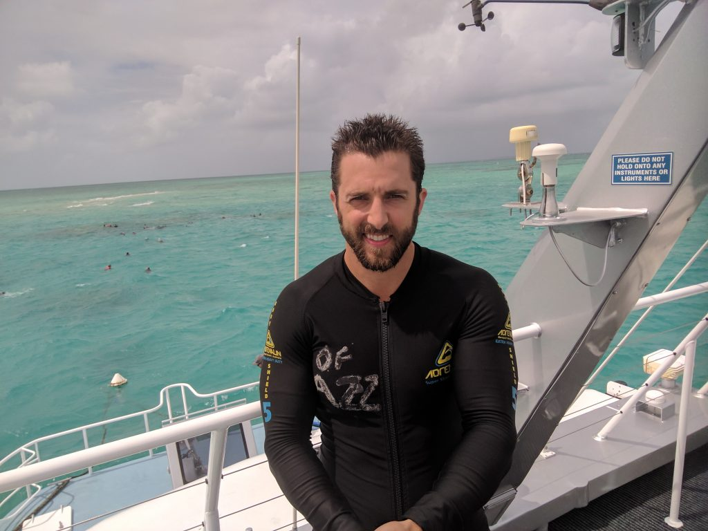brisbane australia diving great barrier reef