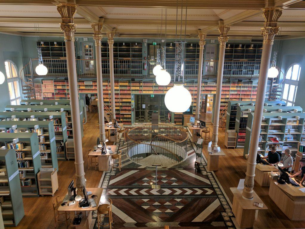 sweden stockholm library