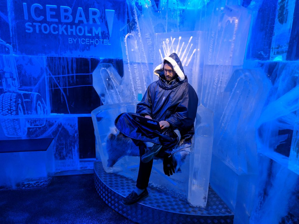 stockholm icebar icehotel digital nomad dannybooboo