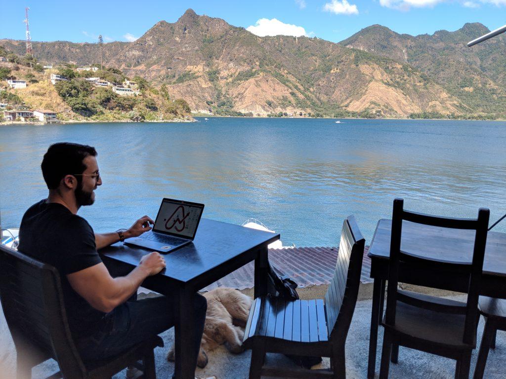 lake atitlan guatemala digital nomad