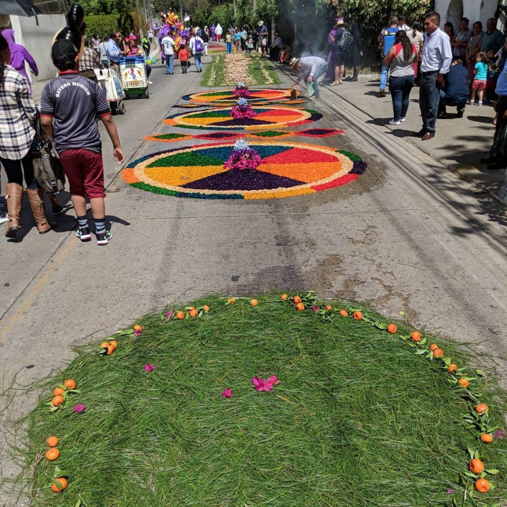 semana santa parade antigua guatemala