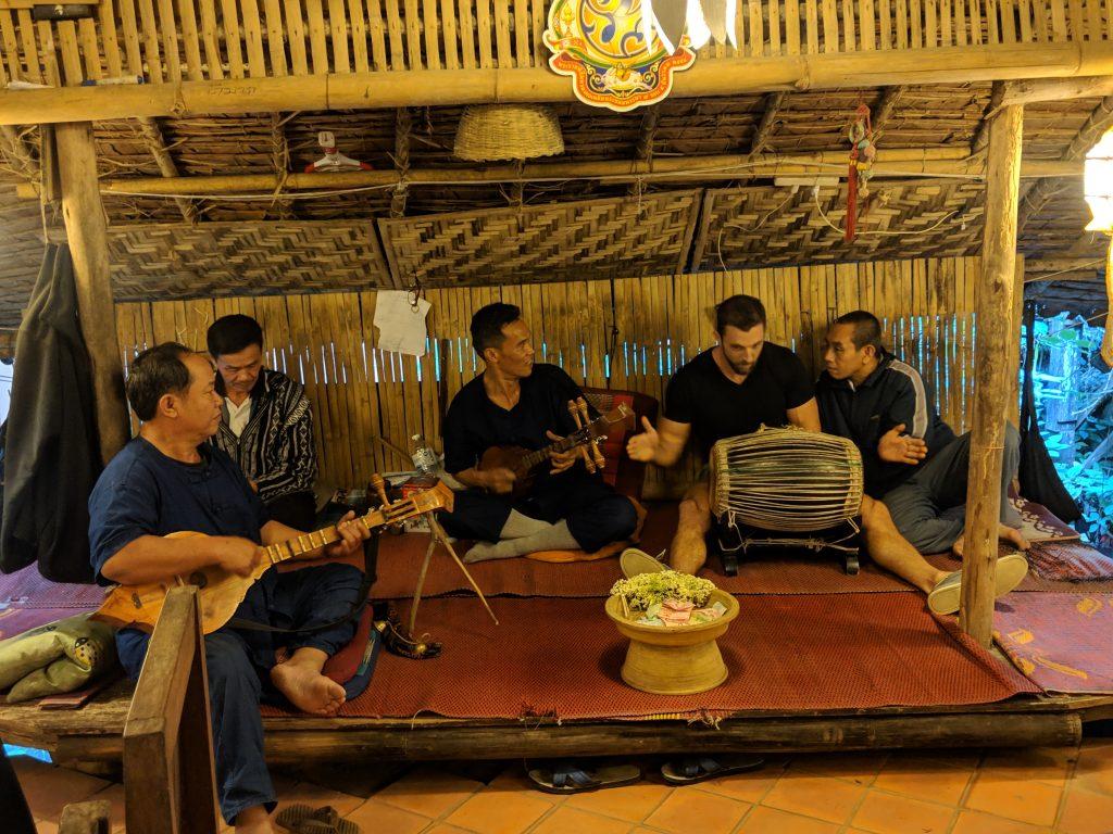drumming around chaing mai thailand