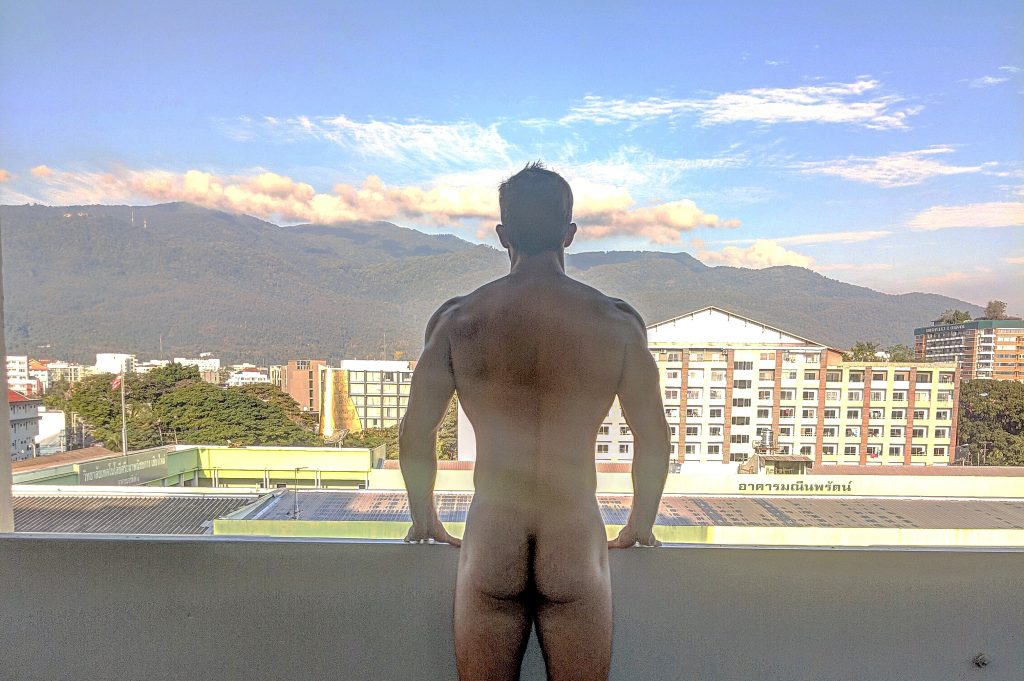 butt nakes digital nomad chiang mai