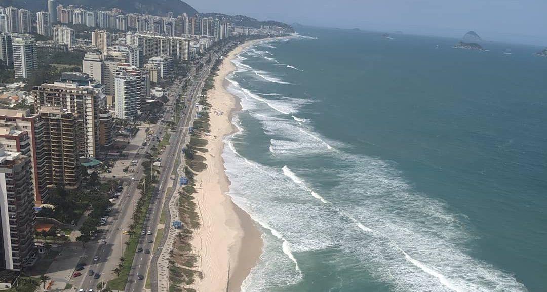 rio de janiero beach cost from helicopter