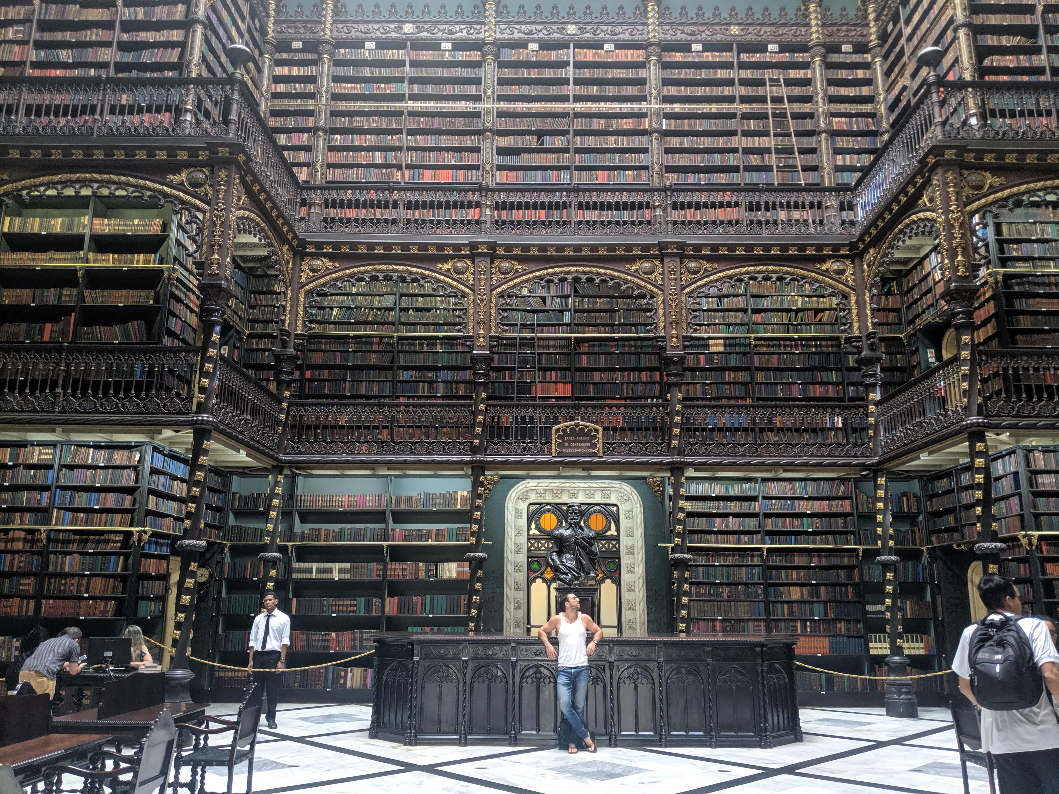 portuguese reading room instagram photo rio de janeiro