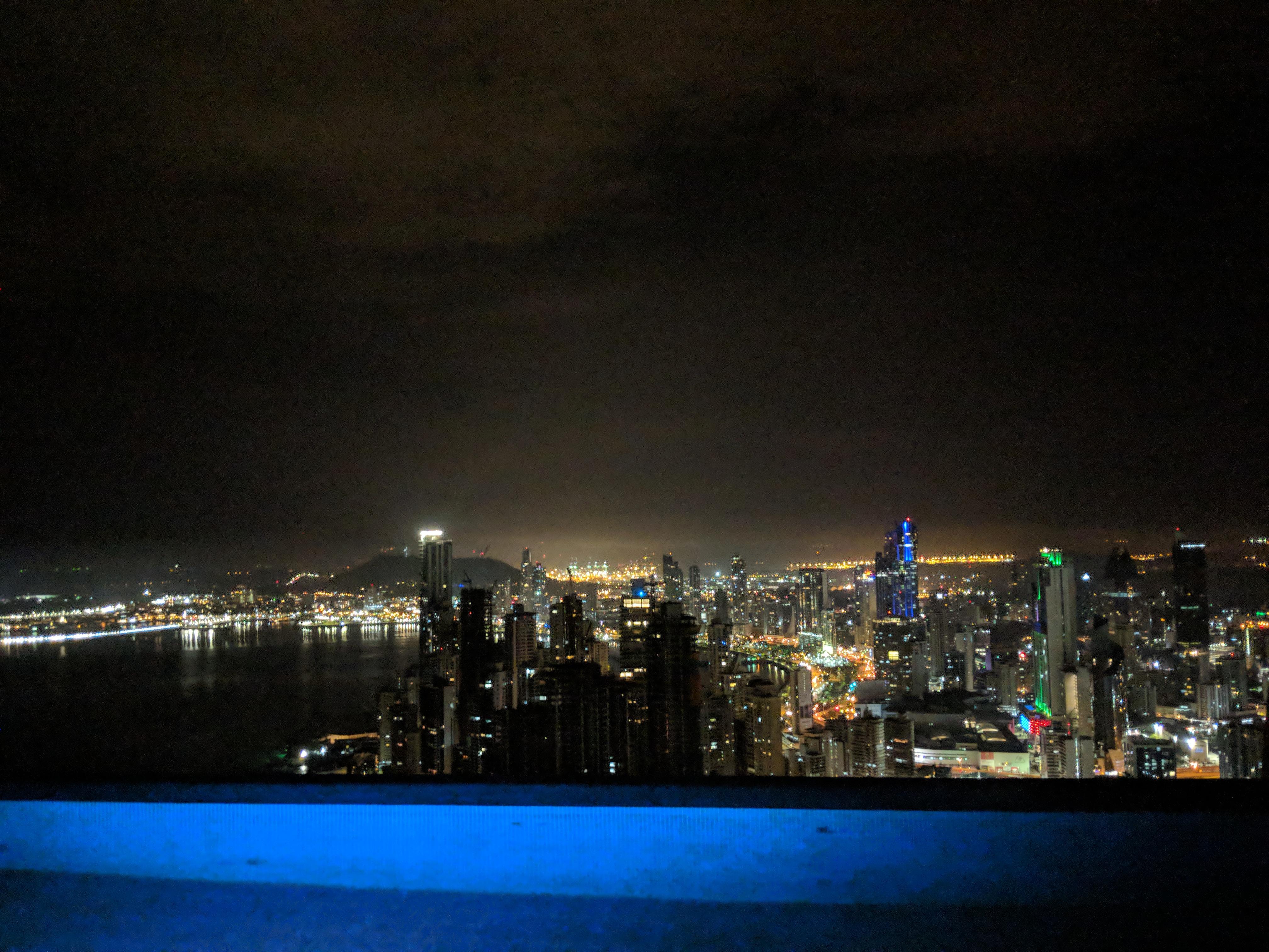 panama city downtown skyline