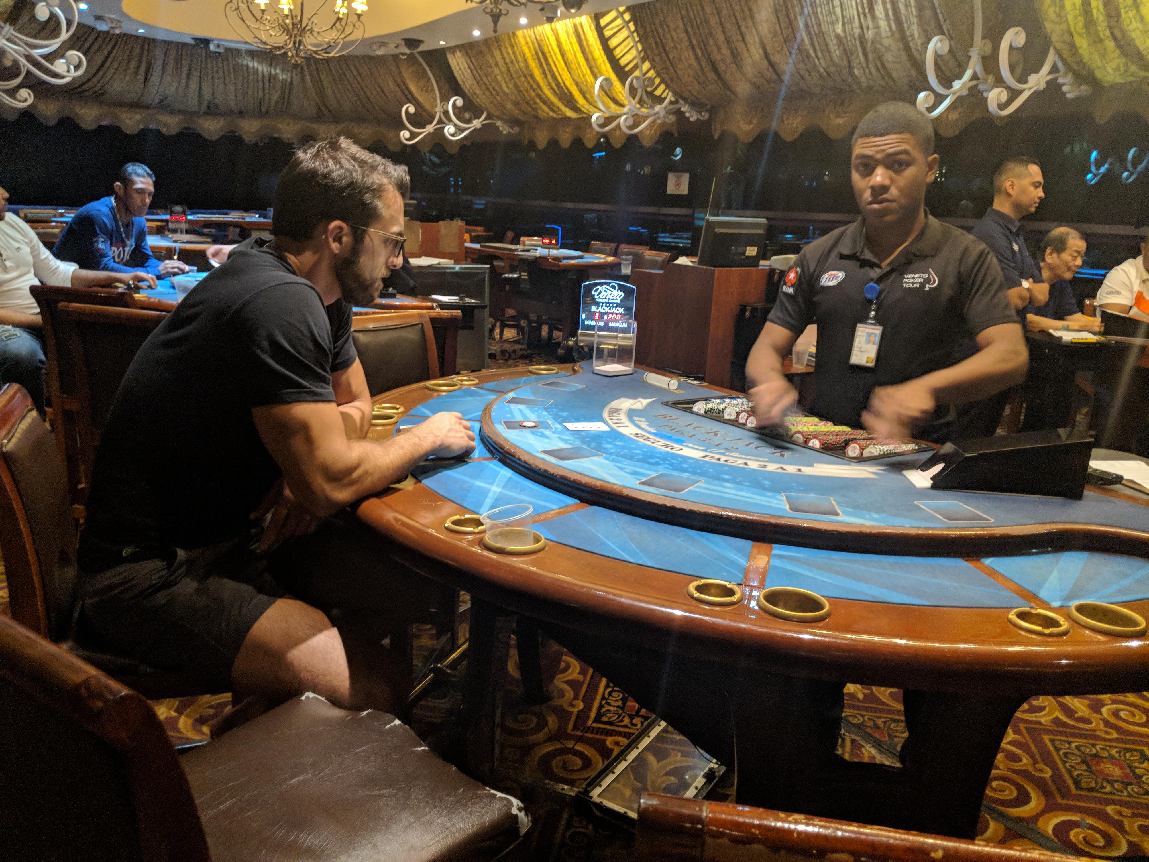 panama city blackjack player