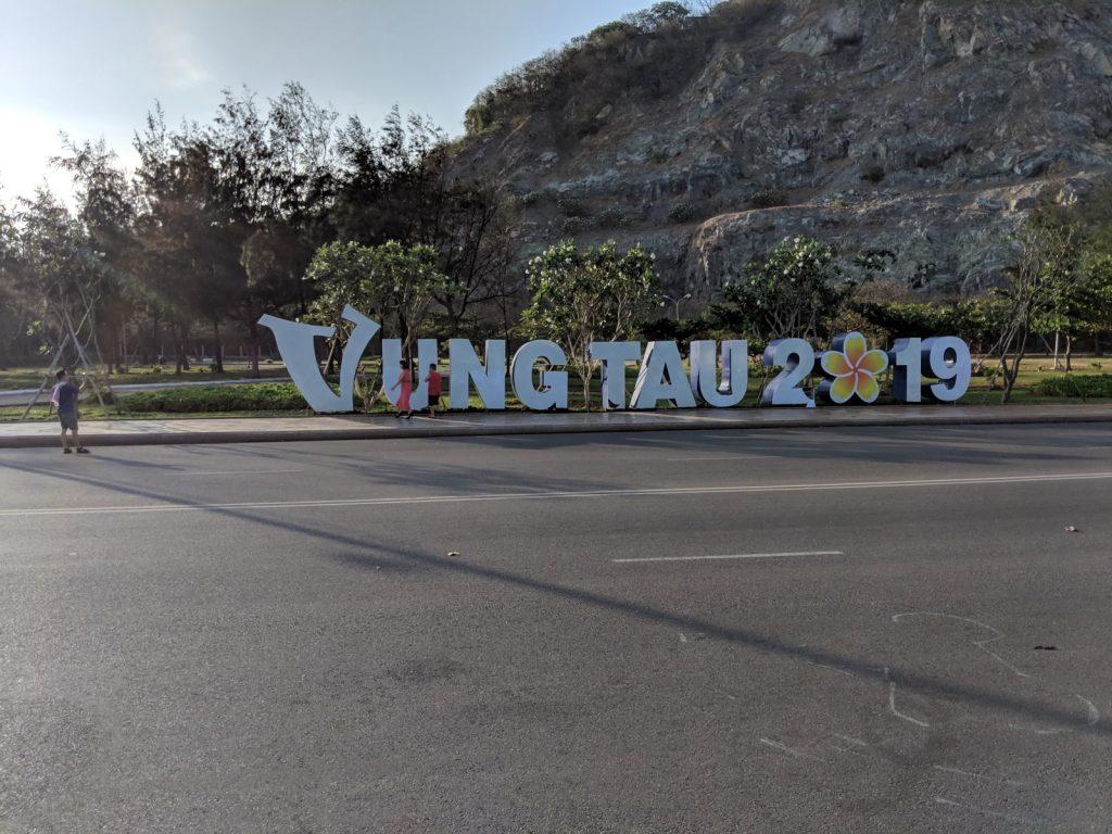 vung tau city sign 2019