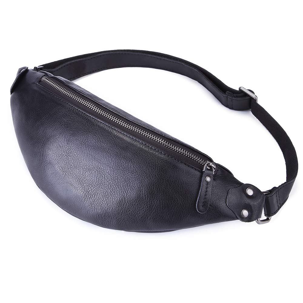 Last Minute Gift Ideas For The Minimalist Digital Nomad leather fanny pack
