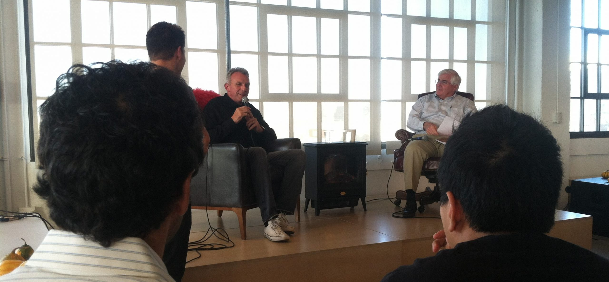 Airbnb Fireside Chat with Joe Montana