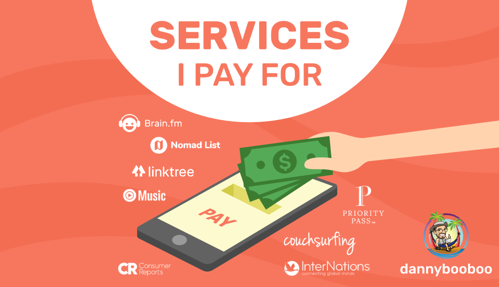 Services I Pay For 1