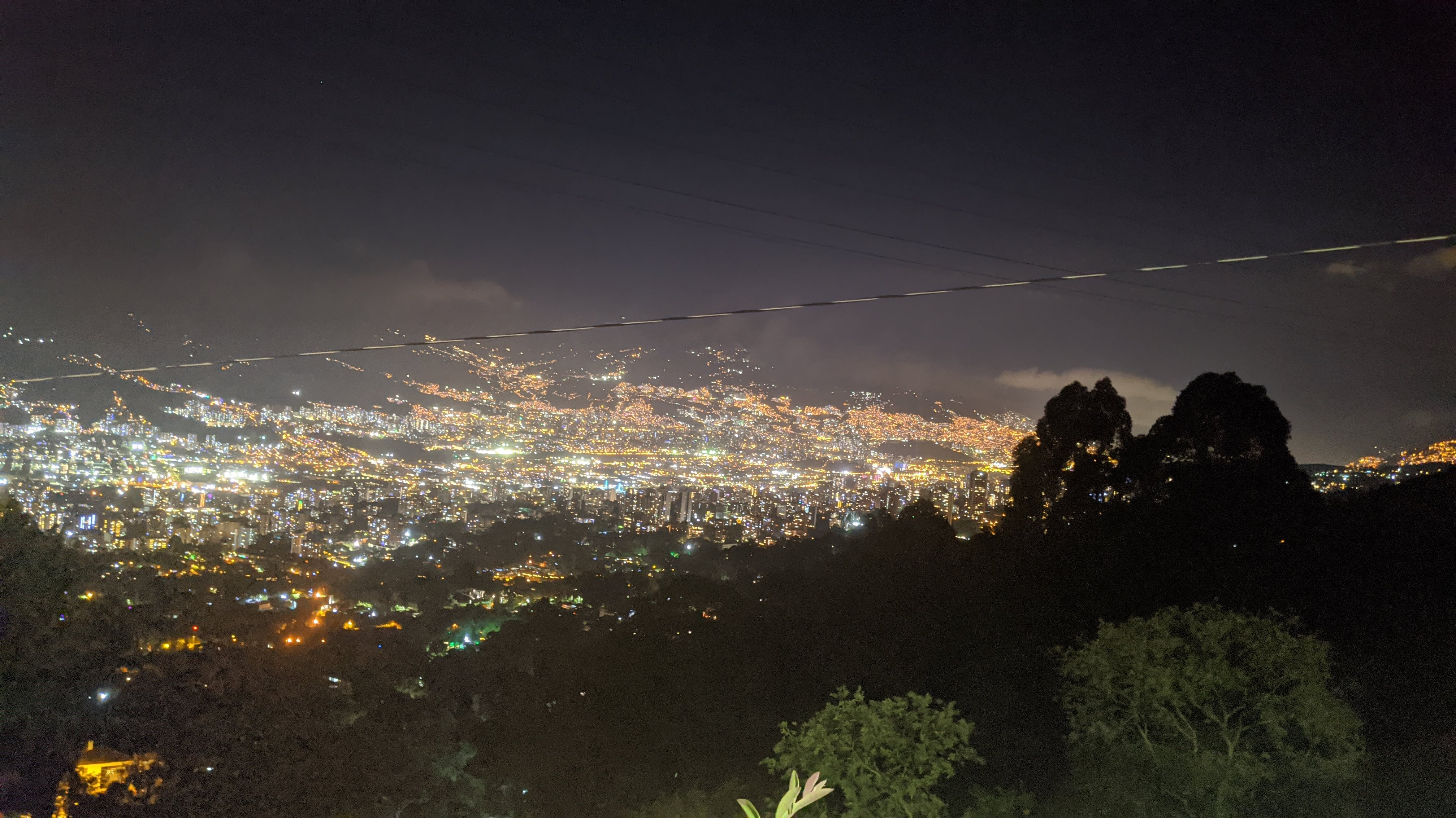 tranversal mountain road medellin colombia views of envigado