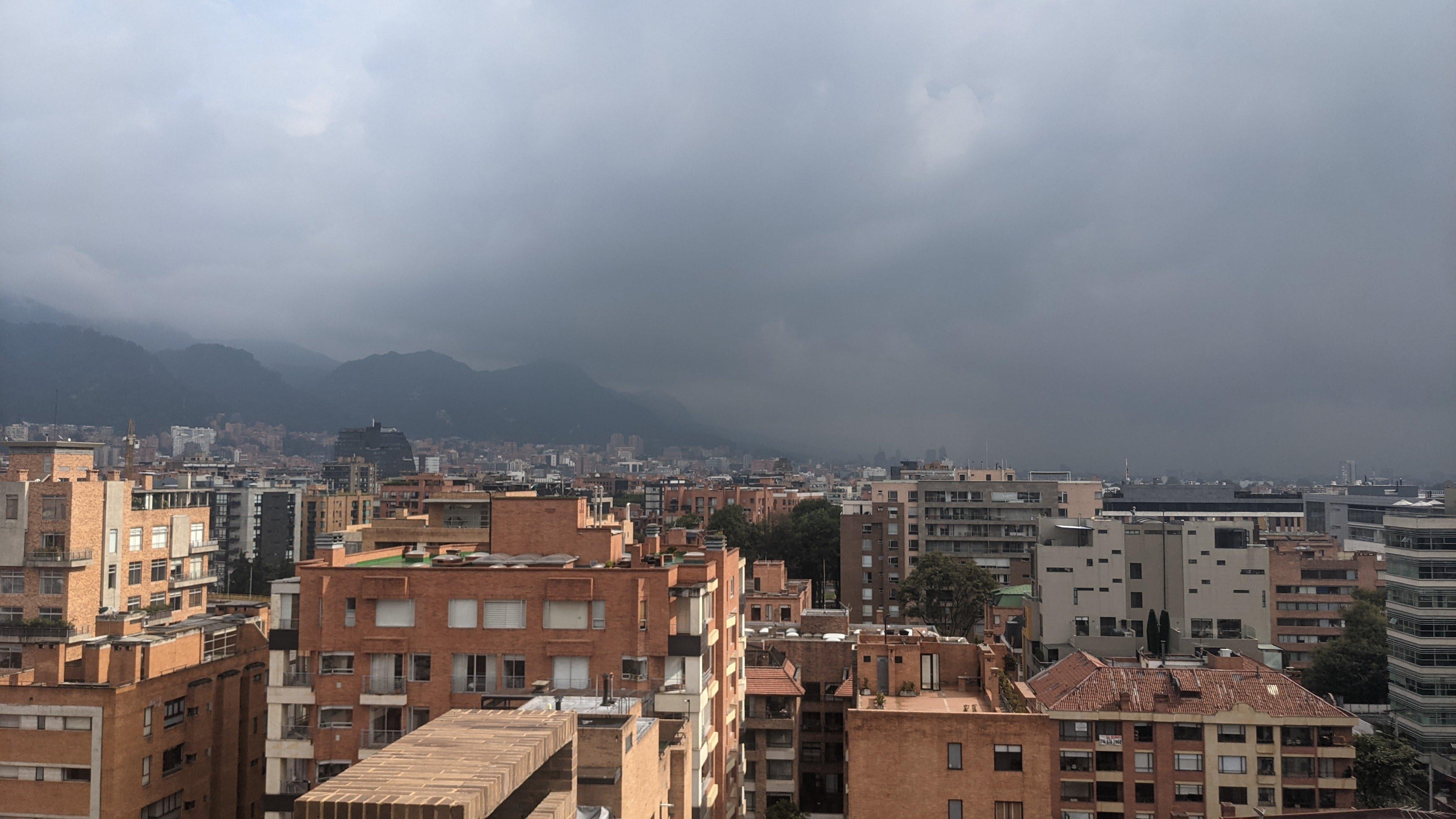 view chico norte bogota cloudy weather