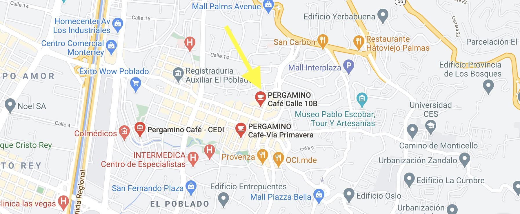 pergamino 2 in hidden part of provenza cafe