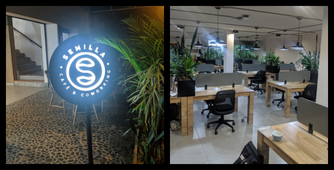 semilla cafe and coworking laureles recommended cafe medellin