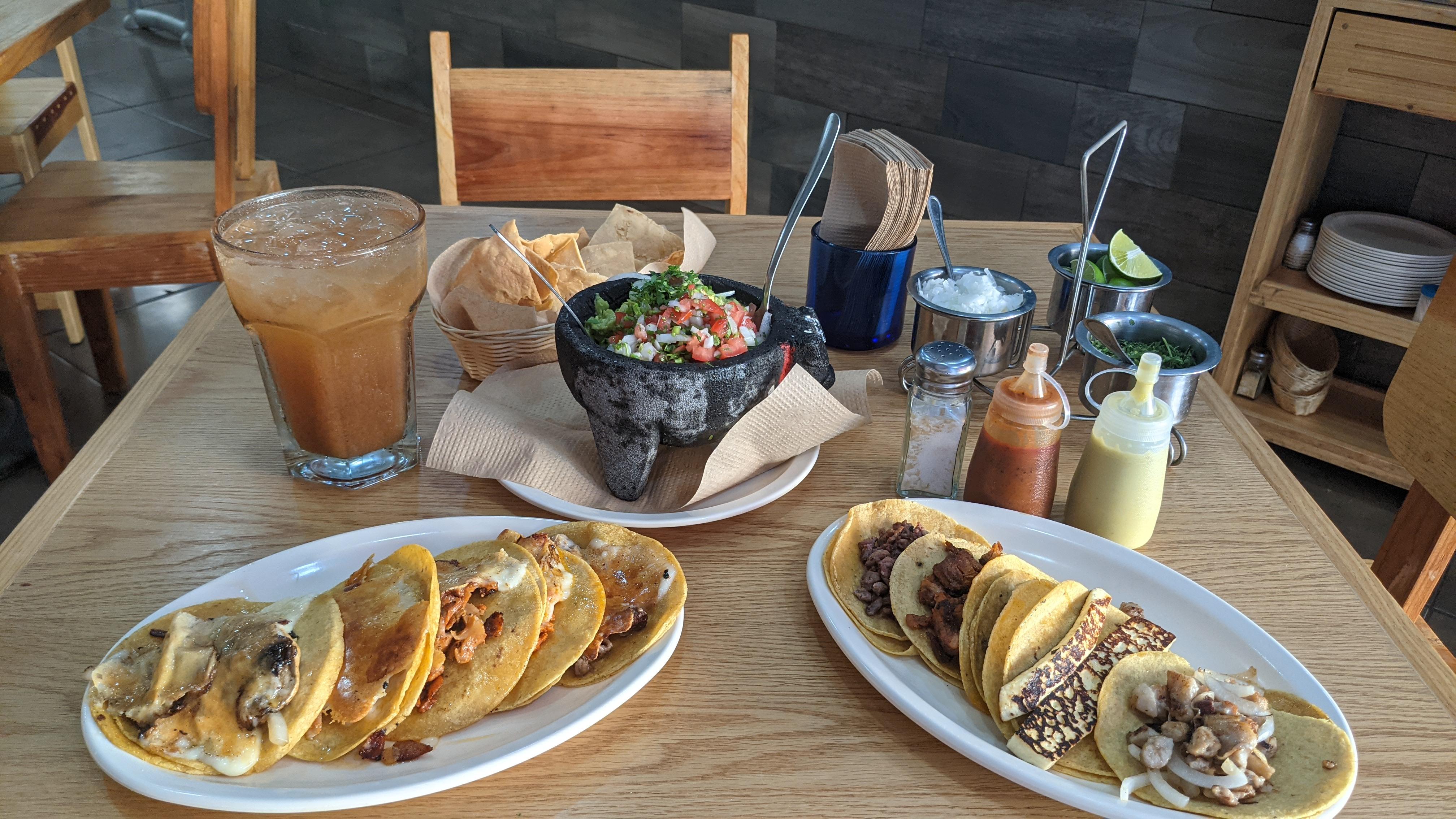 best tacos guacamole playa del carmen