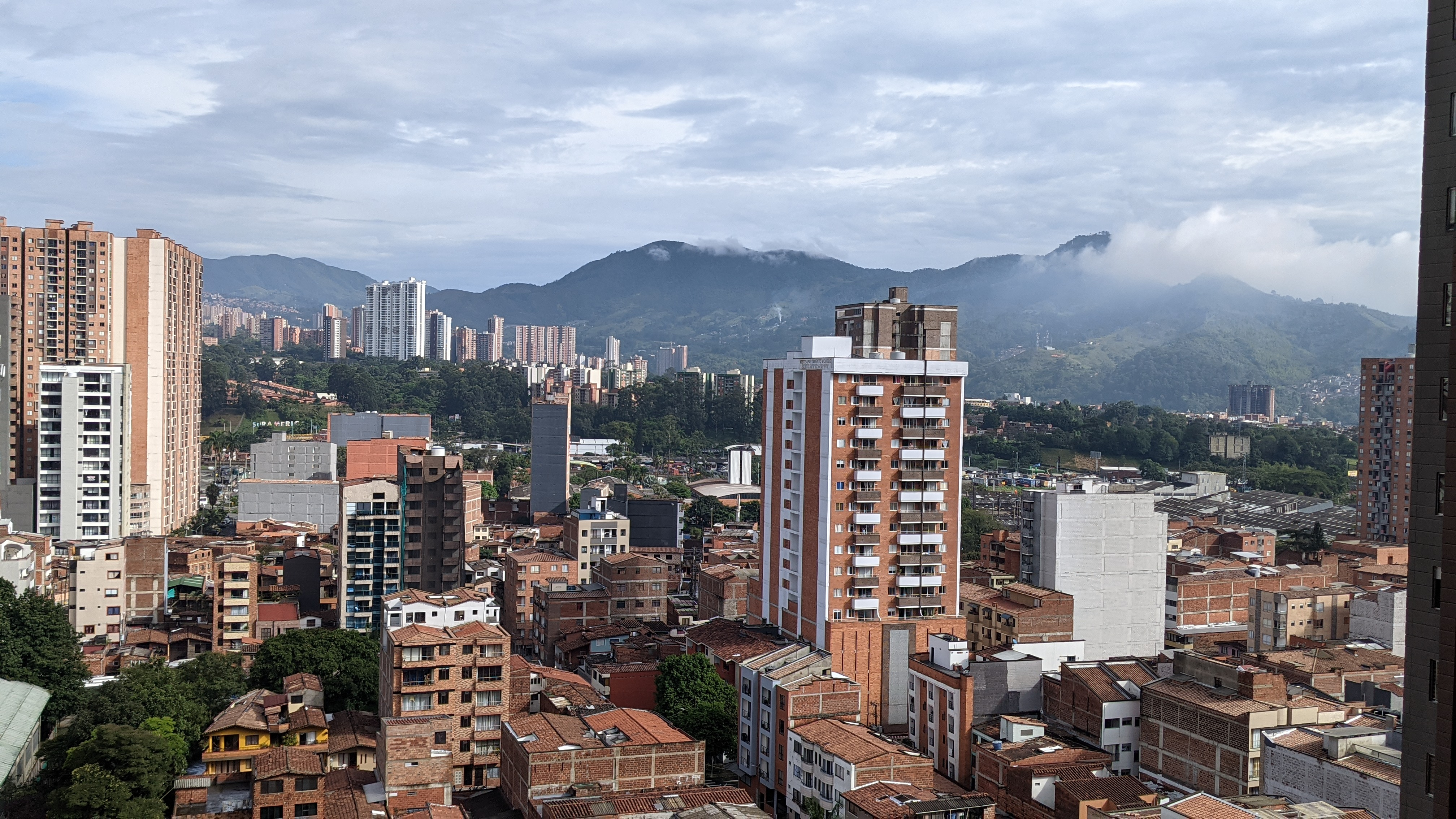 view of sabaneta medellin colombia