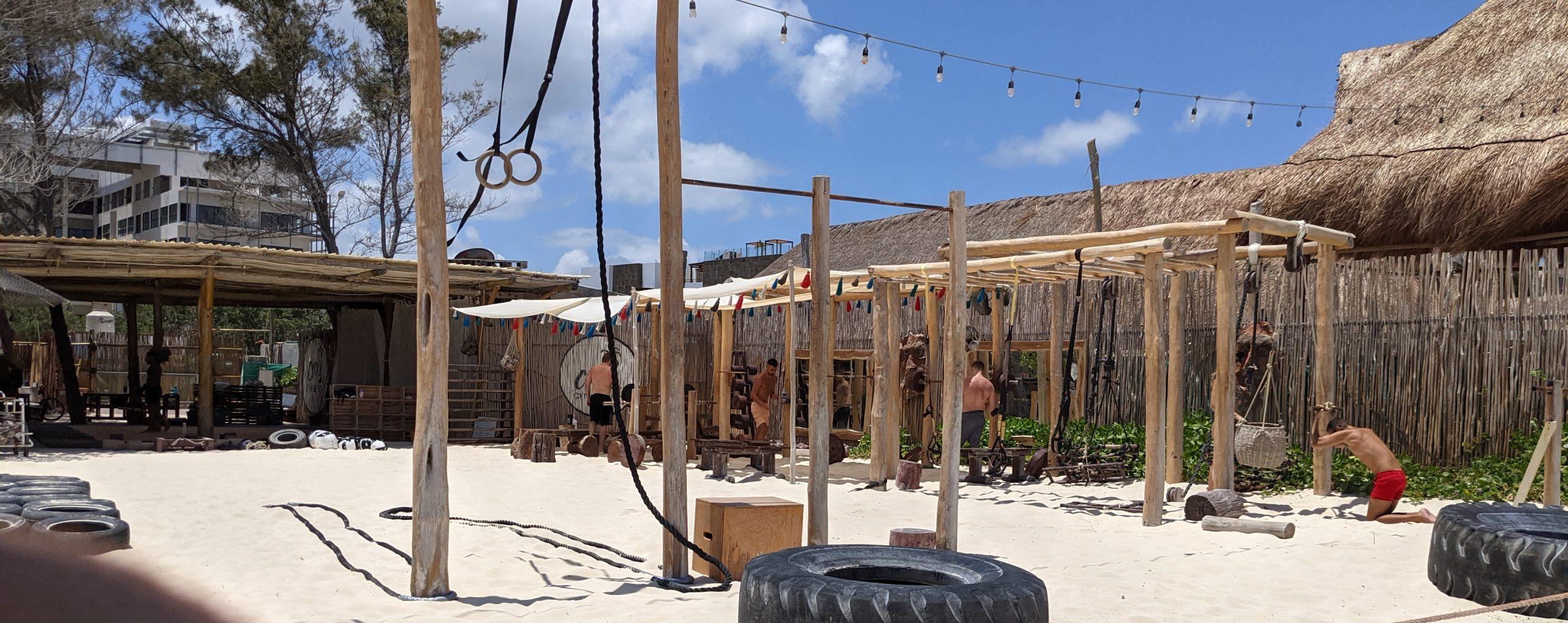 coco beach gym playa del carmen