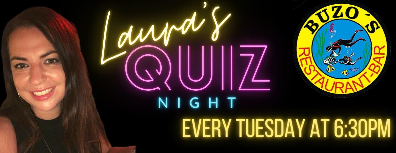 laura's quiz night tuesday trivia buzos